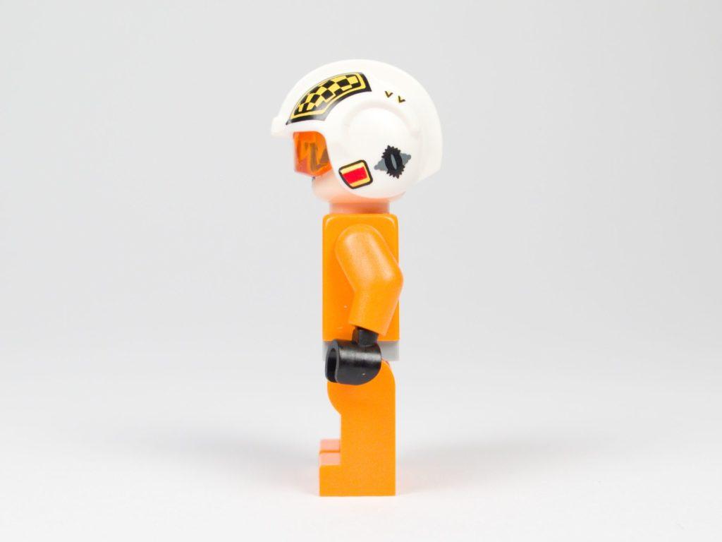 LEGO® Star Wars™ 75218 - Minifigur Biggs Darklighter - linke Seite | ©2018 Brickzeit