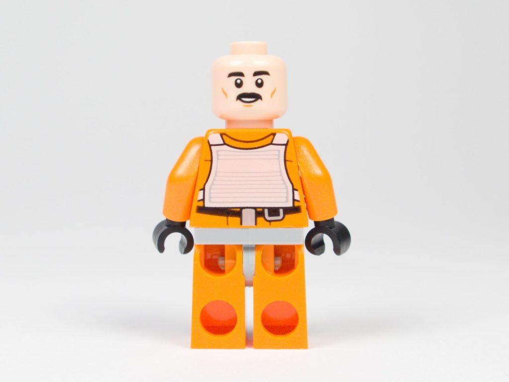 LEGO® Star Wars™ 75218 - Minifigur Biggs Darklighter - ohne Helm, Gesicht 1 | ©2018 Brickzeit