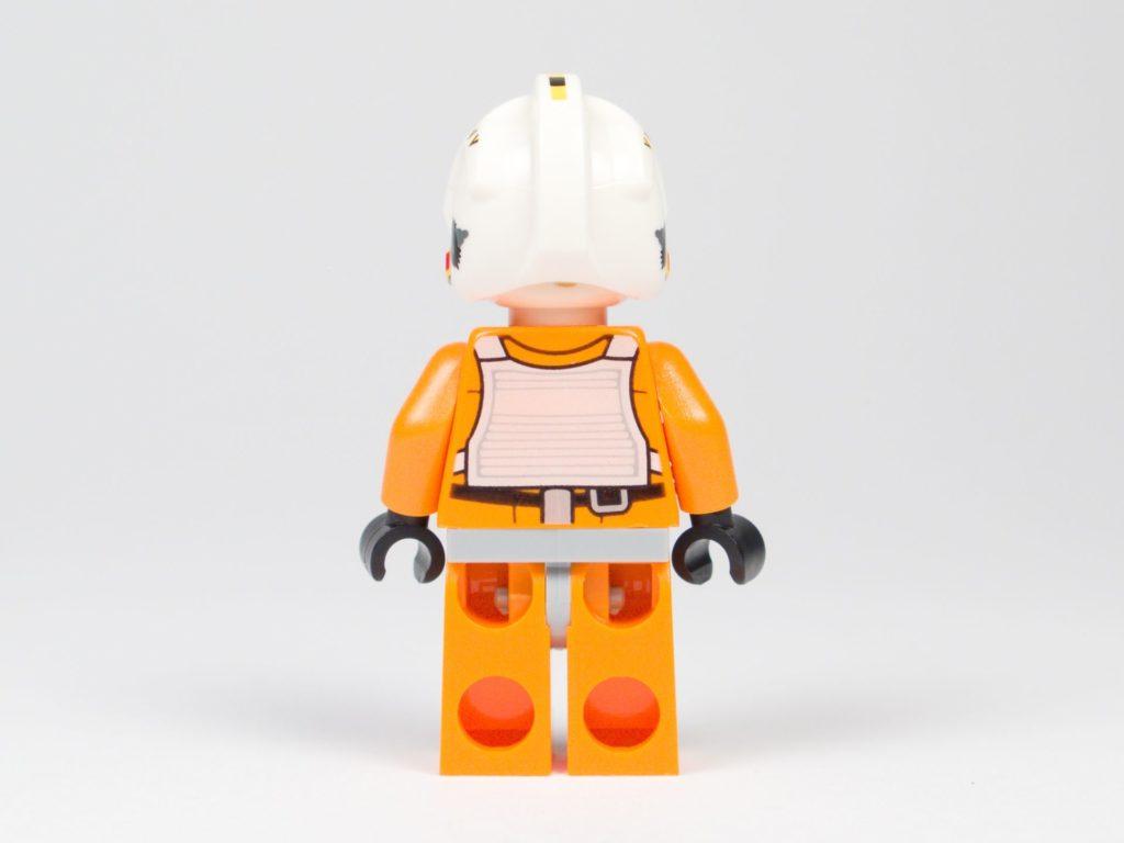 LEGO® Star Wars™ 75218 - Minifigur Biggs Darklighter - Rückseite | ©2018 Brickzeit