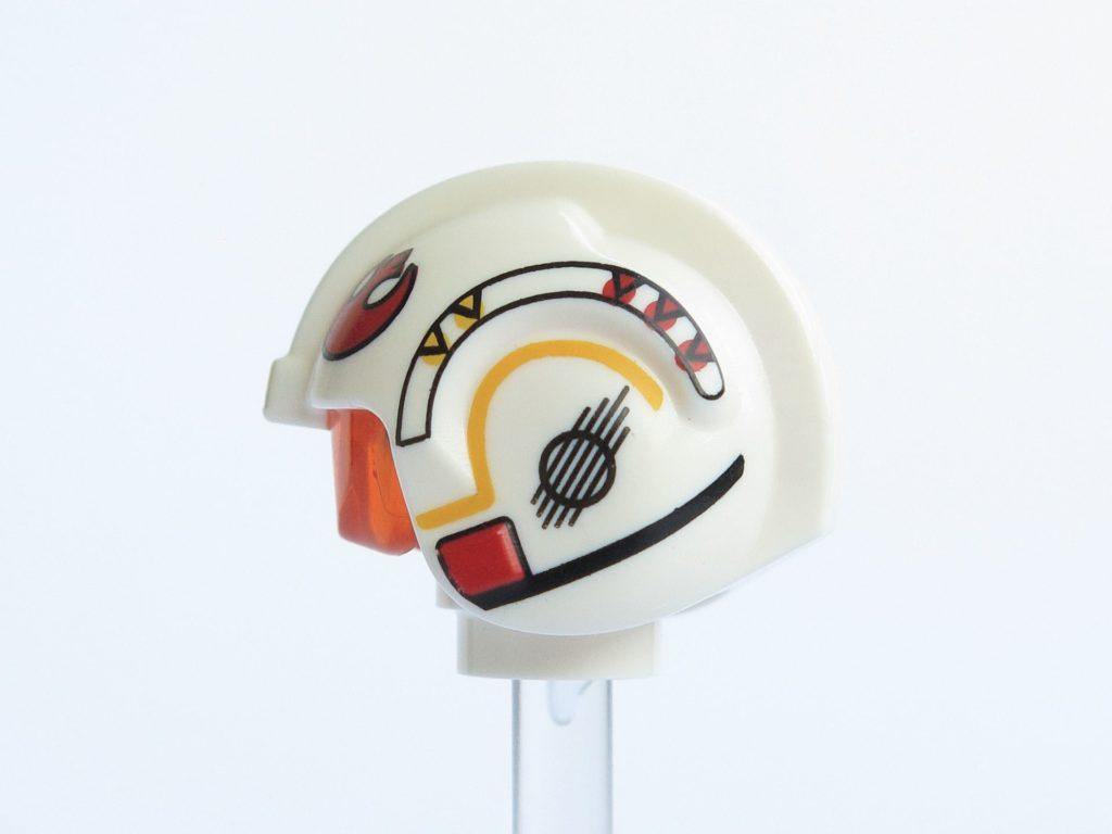 LEGO® Star Wars™ 75218 - Minifigur Luke Skywalker - Helm linke Seite | ©2018 Brickzeit