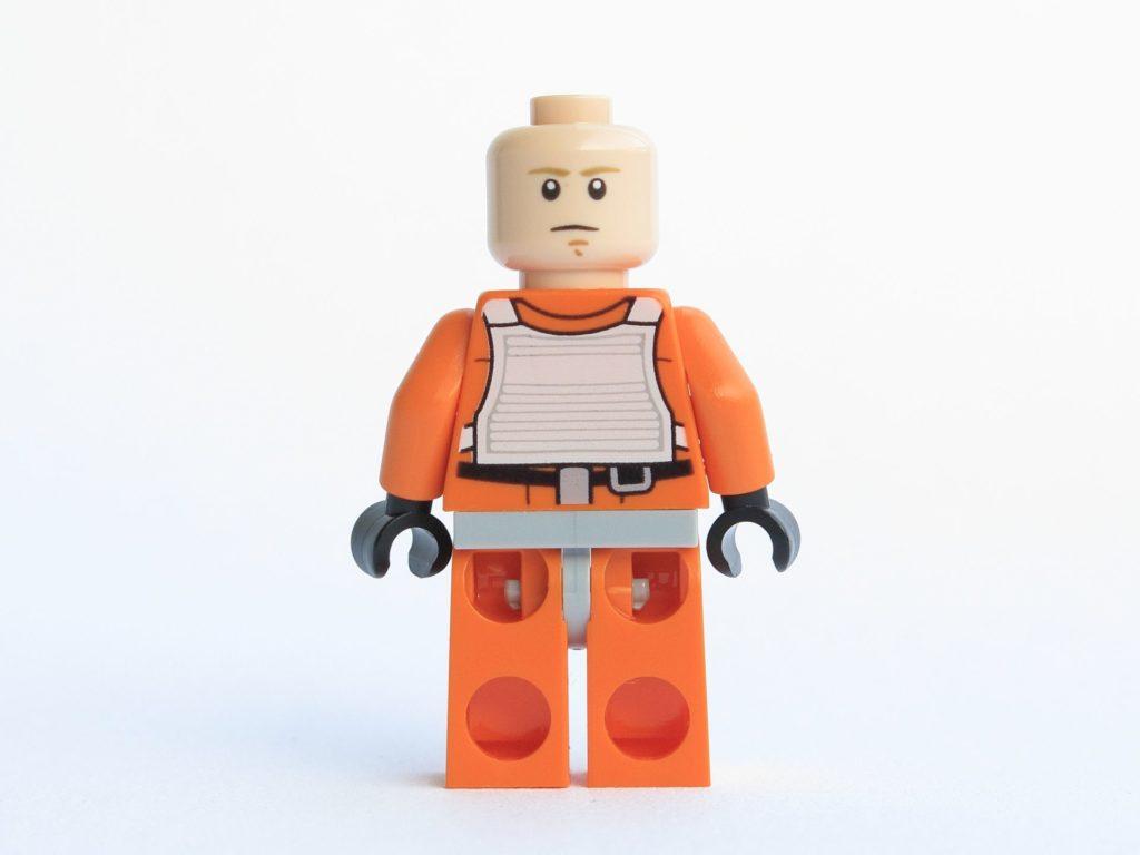 LEGO® Star Wars™ 75218 - Minifigur Luke Skywalker - ohne Helm, Gesicht 2 | ©2018 Brickzeit