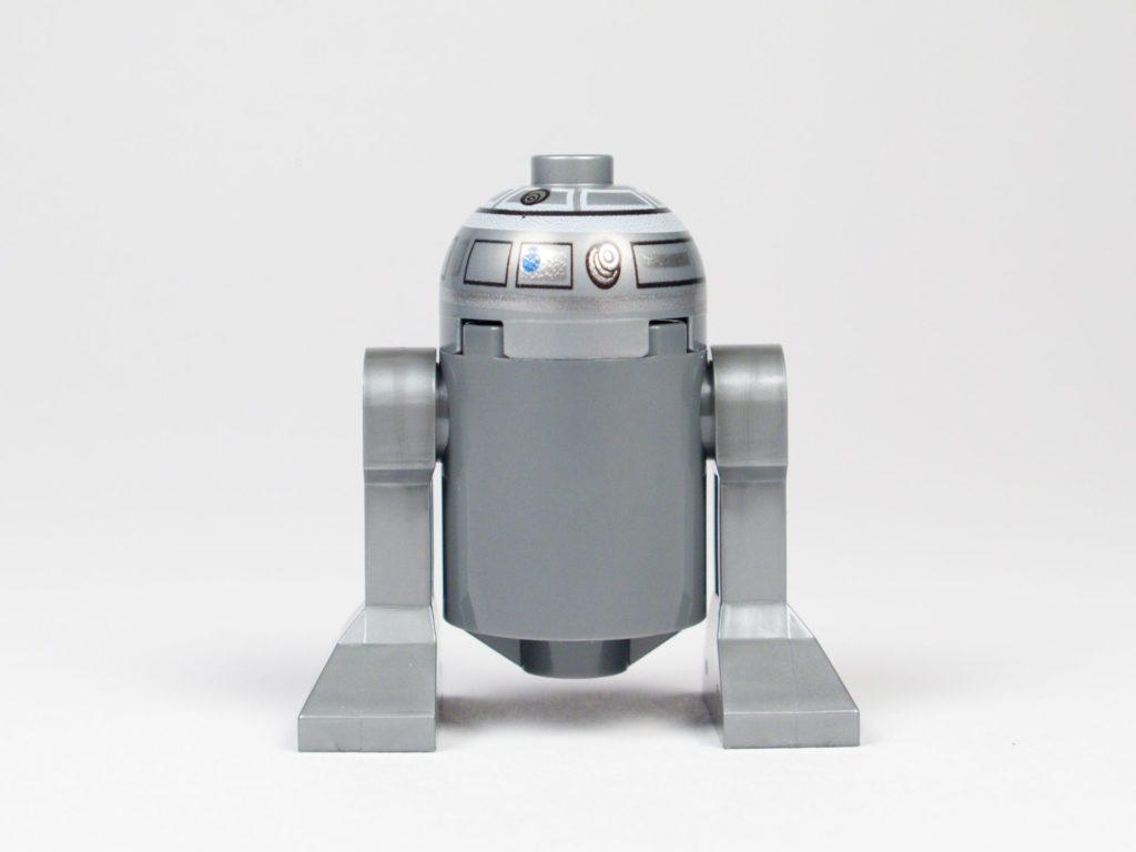 LEGO® Star Wars™ 75218 - Droide R2-Q2 - Rückseite | ©2018 Brickzeit