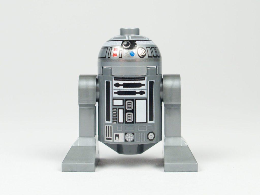 LEGO® Star Wars™ 75218 - Droide R2-Q2 - Vorderseite | ©2018 Brickzeit