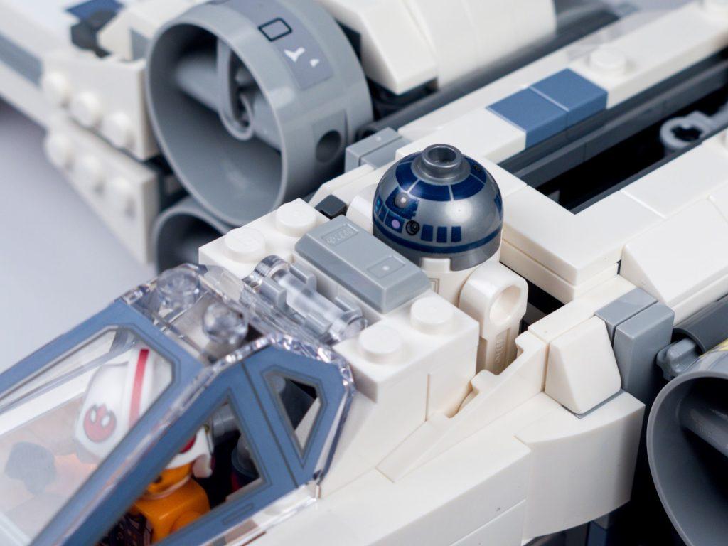 LEGO® Star Wars™ 75218 - Bauabschnitt 6 - Bild 22 | ©2018 Brickzeit