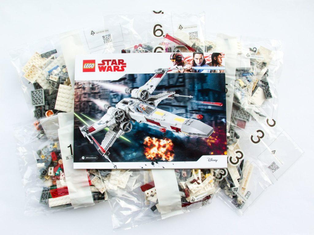 LEGO® Star Wars™ 75218 - Polybags und Anleitung | ©2018 Brickzeit