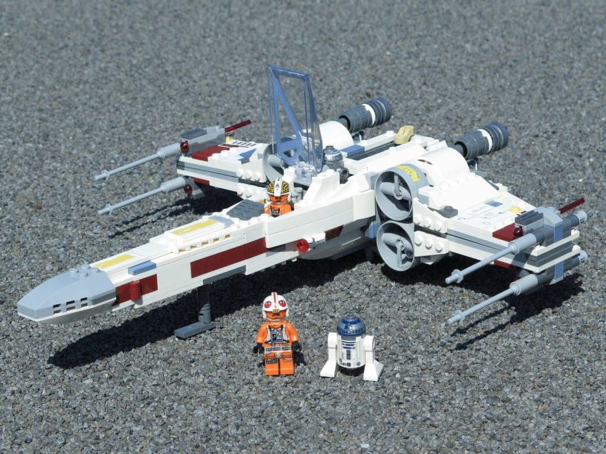 LEGO® Star Wars™ 75218 X-Wing Starfighter™ - Titelbild | ©2018 Brickzeit