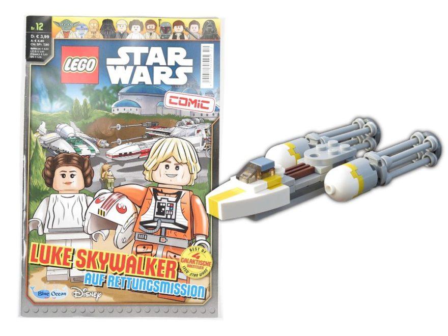 LEGO® Star Wars™ Magazin Nr. 12 - Titelbild | ©2018 Brickzeit
