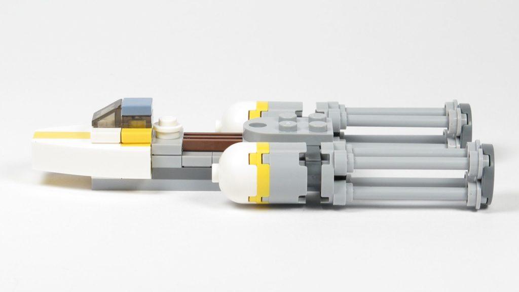 LEGO® Star Wars™ Magazin Nr. 12 - Y-Wing 911730, linke Seite | ©2018 Brickzeit