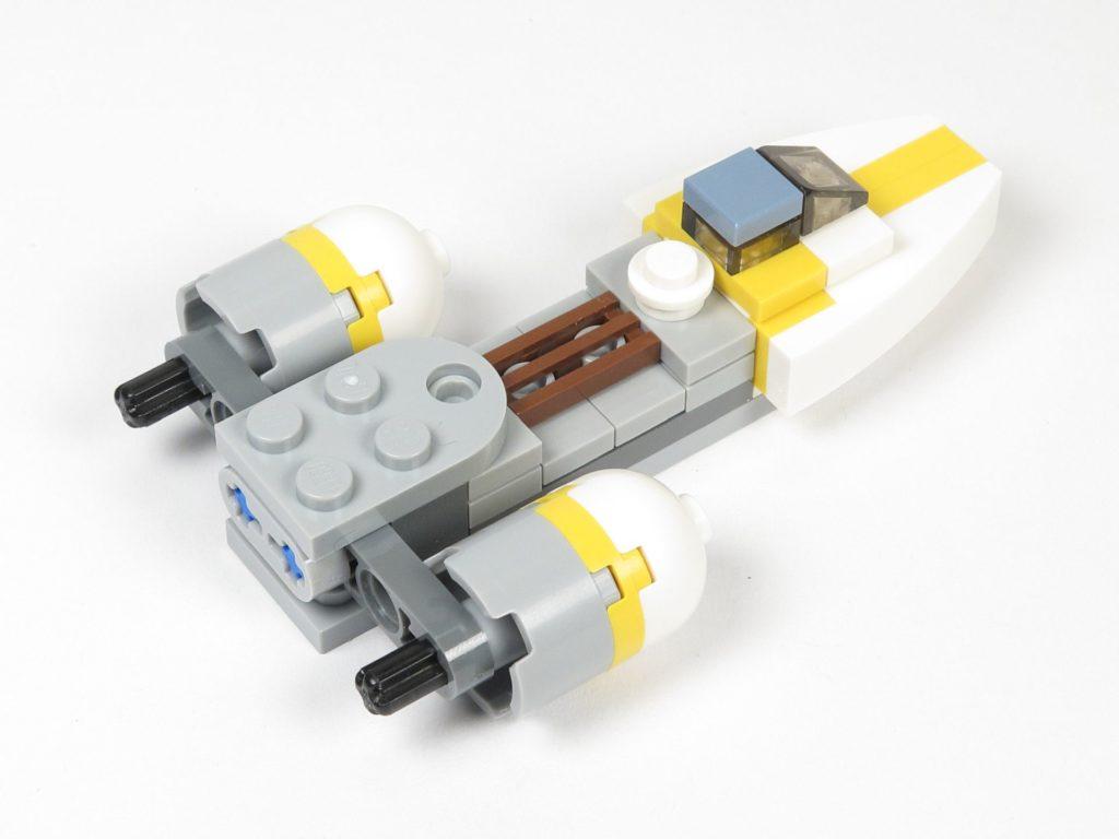 LEGO® Star Wars™ Magazin Nr. 12 - Y-Wing, Antriebe montiert | ©2018 Brickzeit