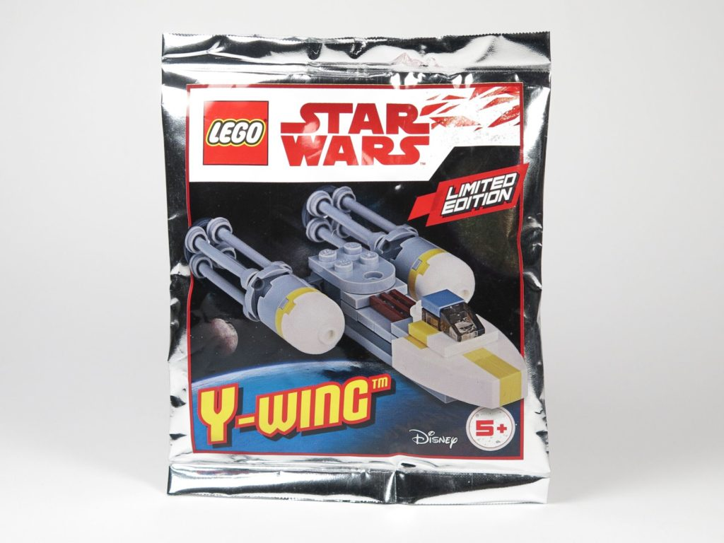 LEGO® Star Wars™ Magazin Nr. 12 - Y-Wing Polybag 911730 | ©2018 Brickzeit