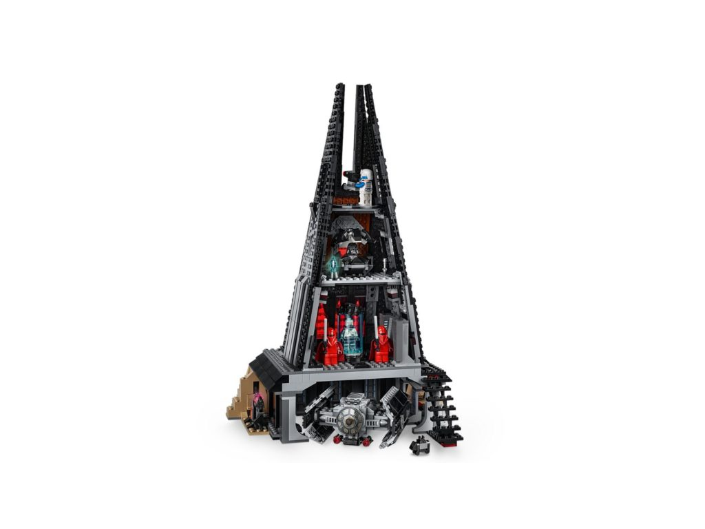 LEGO® Star Wars 75251 Darth Vader's Castle - Rückseite | ©LEGO Gruppe