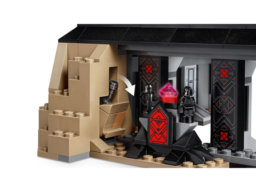 LEGO® Star Wars 75251 Darth Vader's Castle - Raum | ©LEGO Gruppe