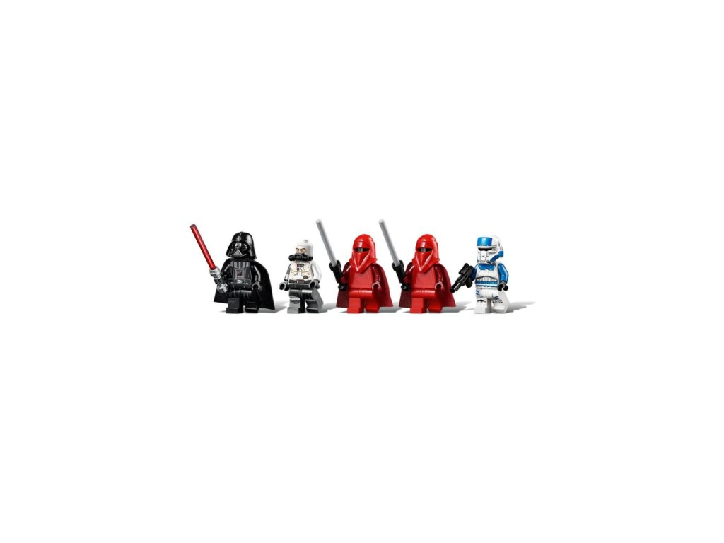 LEGO® Star Wars 75251 Darth Vader's Castle - Minifiguren | ©LEGO Gruppe