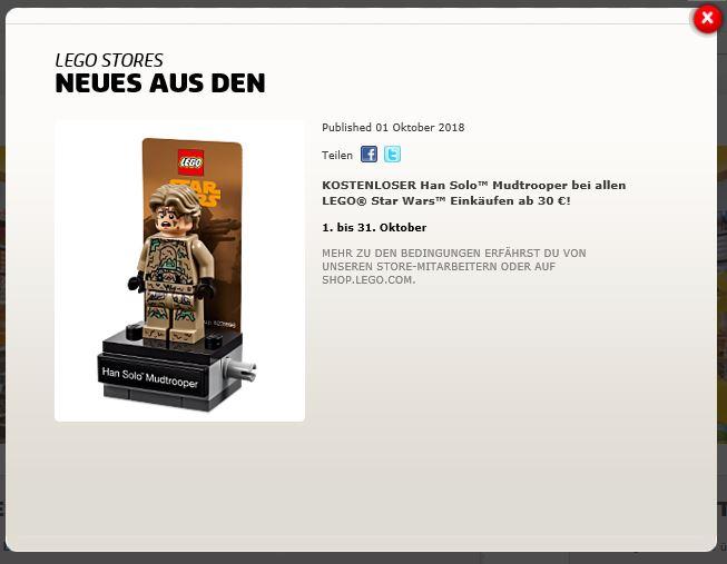 LEGO Star Wars 40300 Han Solo Mudtrooper - Bedingungen | LEGO Gruppe