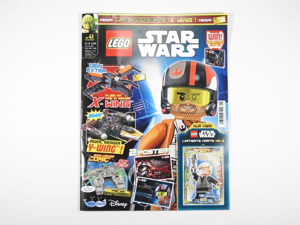 LEGO® Star Wars™ Magazin Nr. 41 - Cover | ©2018 Brickzeit