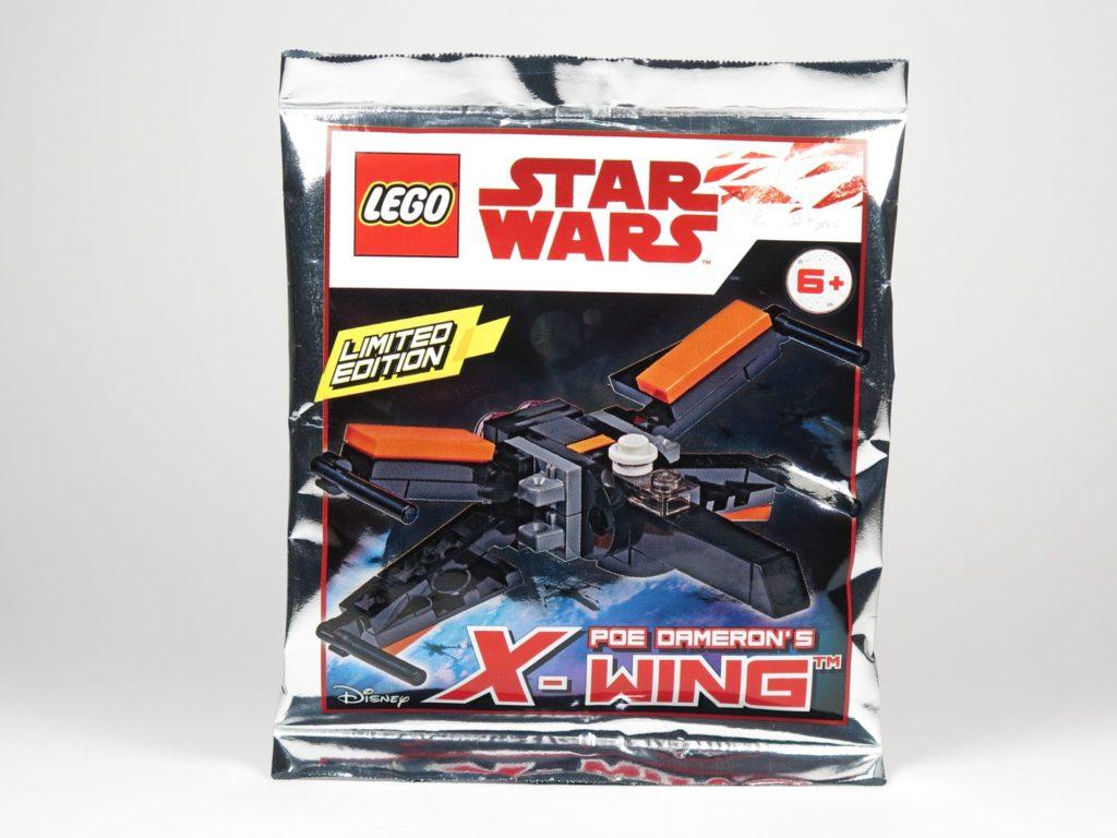 LEGO® Star Wars™ Magazin Nr. 41 - Polybag 911841 - Poe Damerons X-Wing | ©2018 Brickzeit