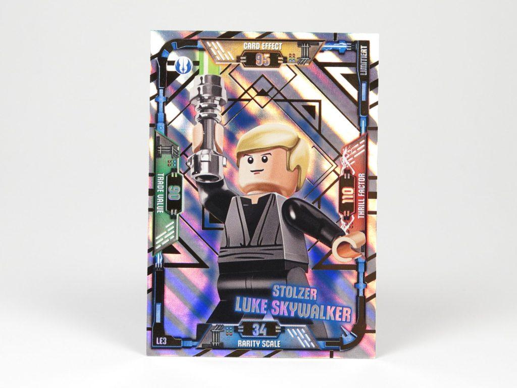LEGO® Star Wars™ Magazin Nr. 41 - Sammelkarte Luke Skywalker | ©2018 Brickzeit