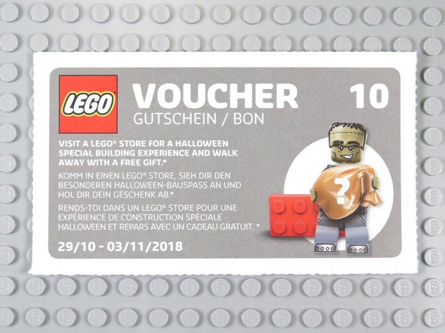 LEGO Wandkalender 2018 - Gutschein Nr. 10 | ©2018 Brickzeit
