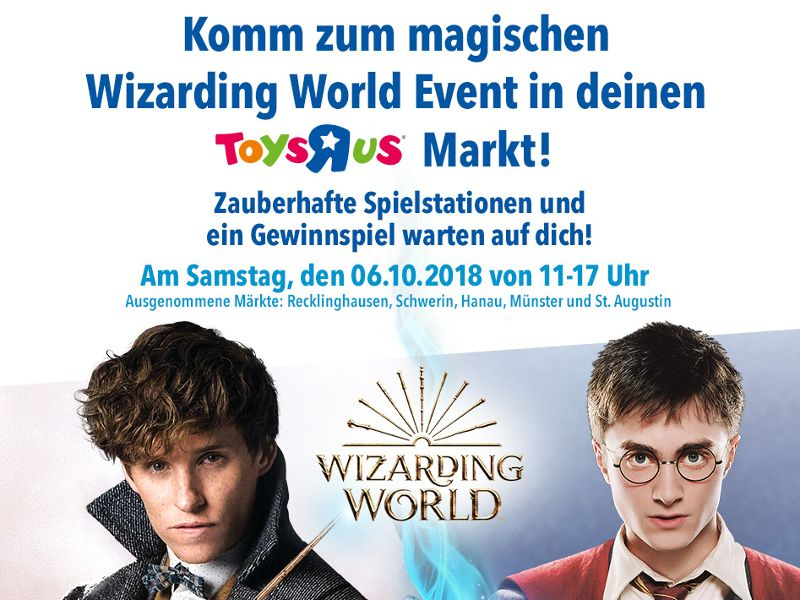 """Toys""""R""""Us Wizarding World Event 6.10.2018 