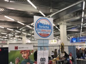 Forscha 2018 mit Mini Maker Faire® | ©2018 Brickzeit