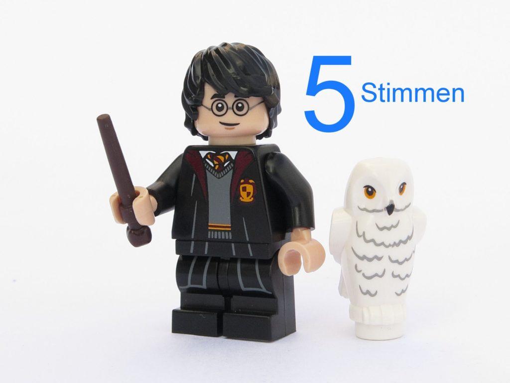 LEGO® 71022 Harry Potter mit Hedwig | ©2018 Brickzeit