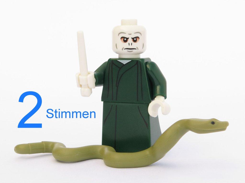 LEGO® 71022 Lord Voldemort | ©2018 Brickzeit