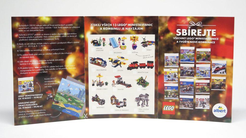 LEGO® Aktion bei Albert CZ November 2018 - Punkte sammeln, Seite 1 | ©2018 Brickzeit