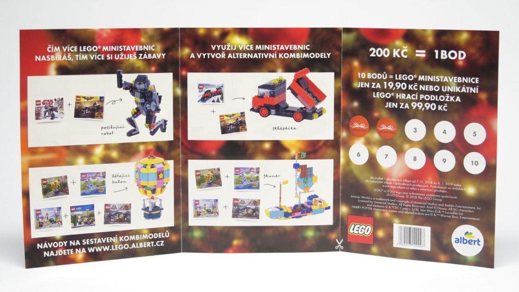 LEGO® Aktion bei Albert CZ November 2018 - Punkte sammeln, Seite 2 | ©2018 Brickzeit