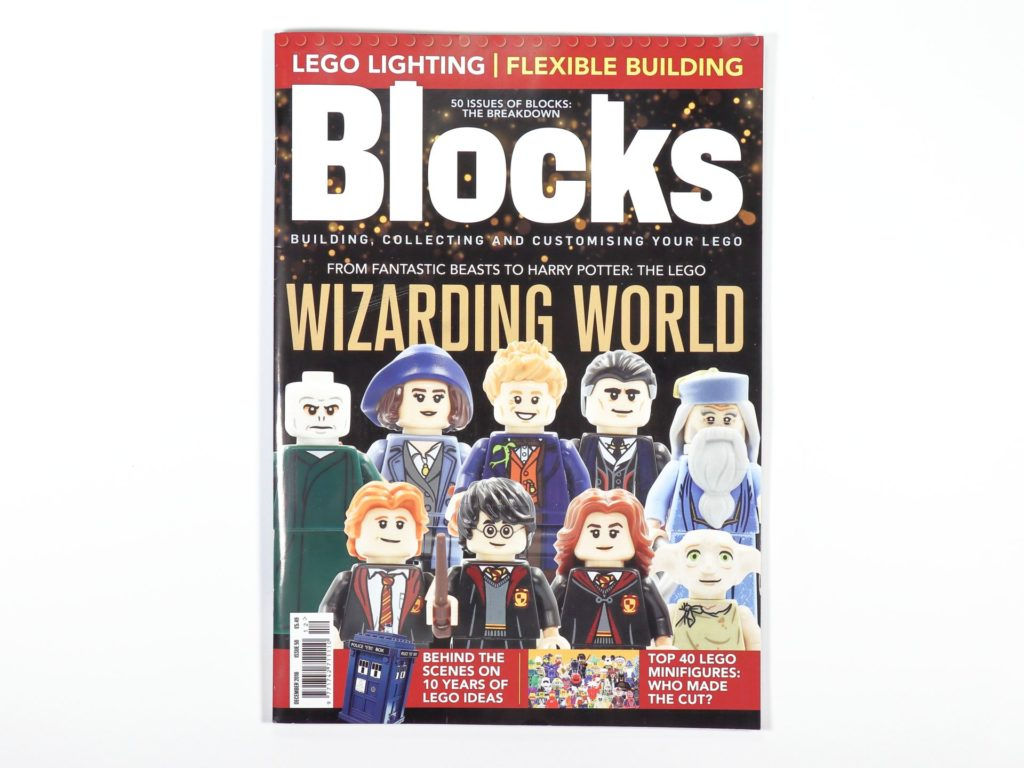 LEGO Blocks Magazin Ausgabe 50 - Coverbild