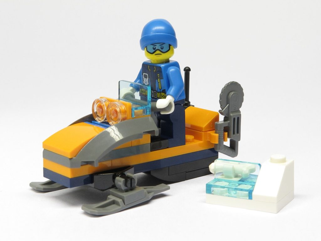 LEGO® City 951810 Eisforscher mit Schneemobil und Mammutknochen - Set | ©2018 Brickzeit