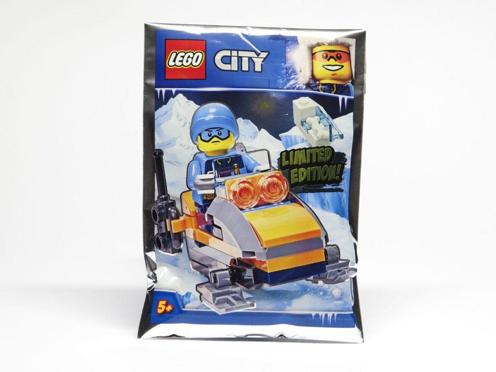 LEGO® City 951810 Eisforscher mit Schneemobil und Mammutknochen - Polybag | ©2018 Brickzeit