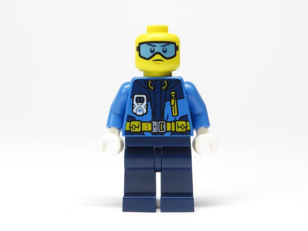 LEGO® City 951810 Eisforscher ohne Mütze - Vorderseite | ©2018 Brickzeit