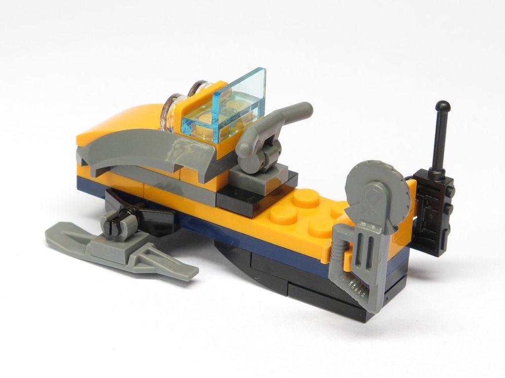 LEGO® City 951810 Schneemobil - hinten, links | ©2018 Brickzeit