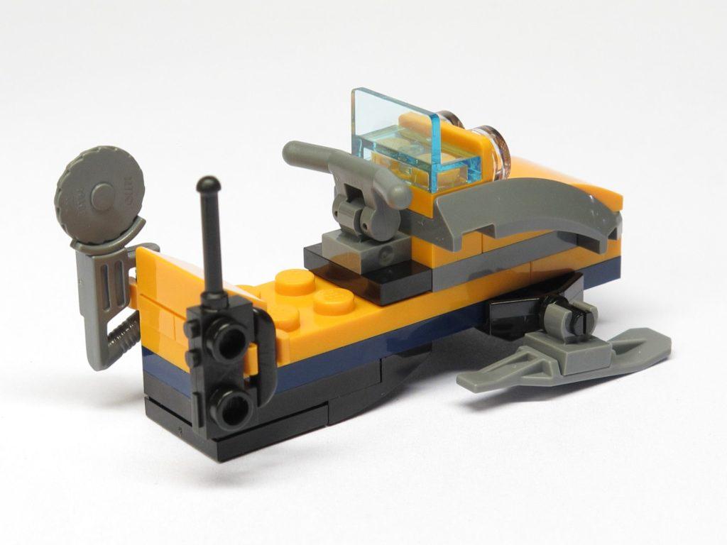 LEGO® City 951810 Schneemobil - hinten, rechts | ©2018 Brickzeit