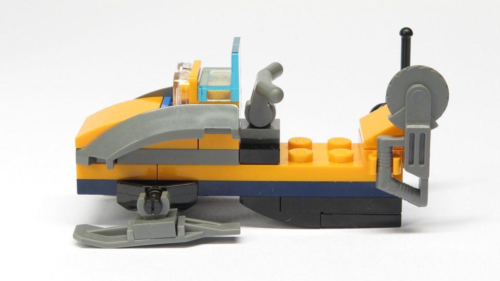 LEGO® City 951810 Schneemobil - linke Seite | ©2018 Brickzeit