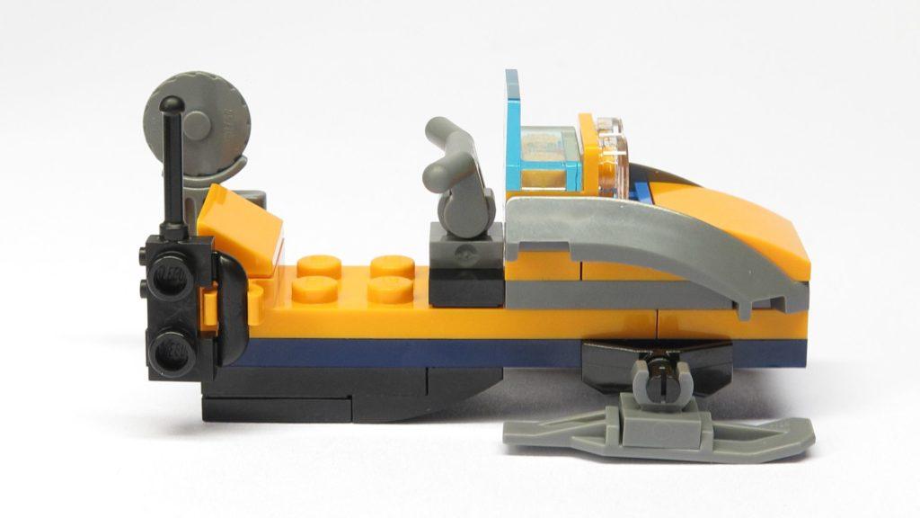 LEGO® City 951810 Schneemobil - rechte Seite | ©2018 Brickzeit