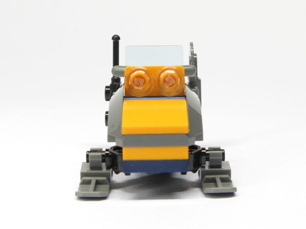 LEGO® City 951810 Schneemobil - Vorderseite | ©2018 Brickzeit