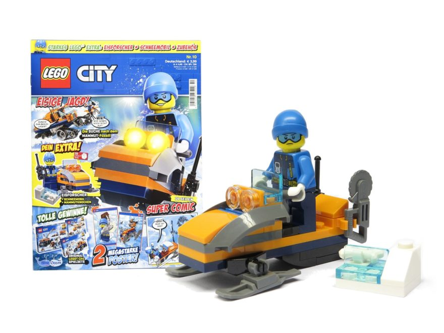 LEGO® City Magazin Nr. 10 (November 2018) - Titelbild | ©2018 Brickzeit