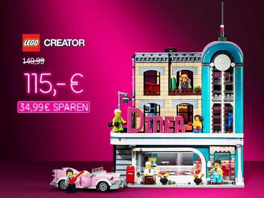 LEGO Creator Expert 10260 Amerikanisches Diner Angebot bei GALERIA Kaufhof | ©GALERIA Kaufhof