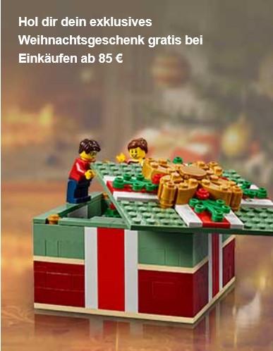LEGO® Weihnachtsgeschenk 40292 Aktion 17. u. 18. November 2018 | ©LEGO Gruppe