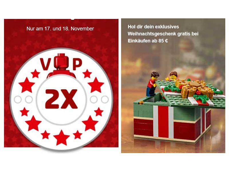 LEGO® Doppelte VIP Punkte am 17. und 18. November 2018 | ©LEGO Gruppe