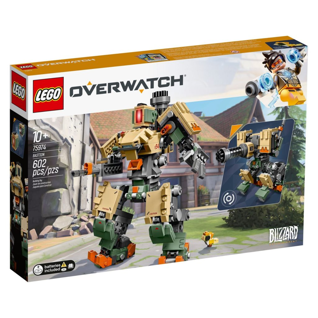LEGO® Overwatch 75974 Bastion - Verpackung Vorderseite | ©LEGO Gruppe