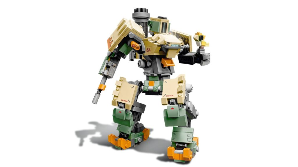LEGO® Overwatch 75974 Bastion - Action | ©LEGO Gruppe