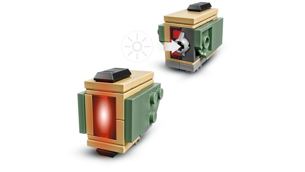 LEGO® Overwatch 75974 Bastion - Lichtstein | ©LEGO Gruppe