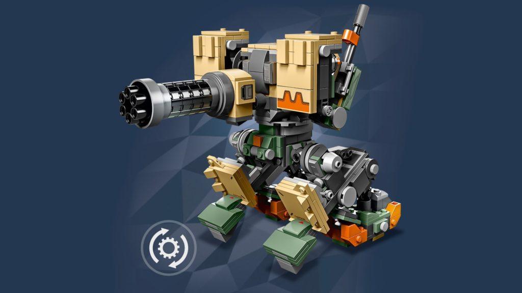 LEGO® Overwatch 75974 Bastion - Kanone mit Hintergrund | ©LEGO Gruppe