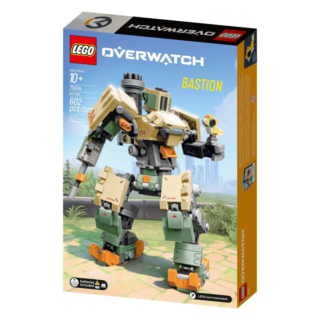 LEGO® Overwatch 75974 Bastion - Verpackung Rückseite | ©LEGO Gruppe