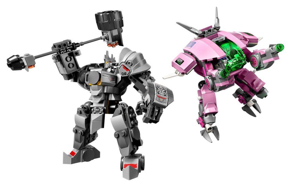 LEGO® Overwatch 75973 D.Va & Reinhardt - Action | ©LEGO Gruppe