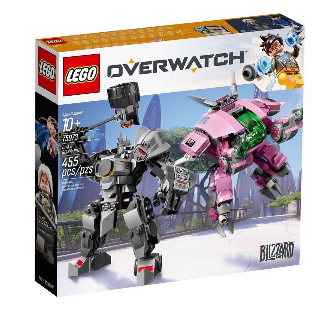 LEGO® Overwatch 75973 D.Va & Reinhardt - Packung Vorderseite | ©LEGO Gruppe