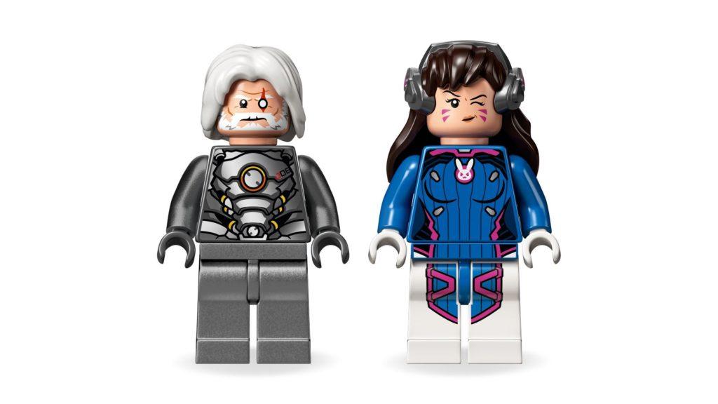 LEGO® Overwatch 75973 D.Va & Reinhardt - Minifiguren | ©LEGO Gruppe