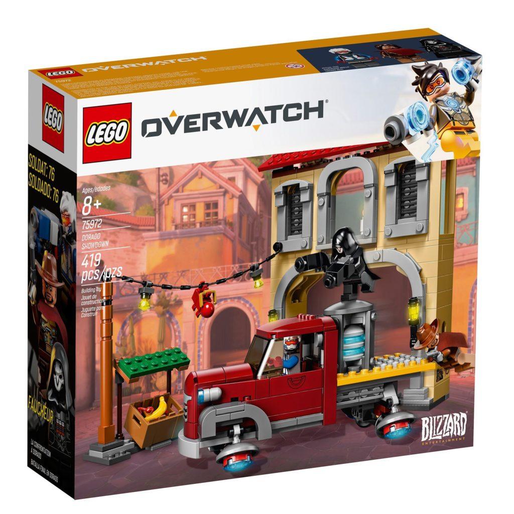 LEGO® Overwatch 75972 Dorado Showdown - Packung Vorderseite | ©LEGO Gruppe